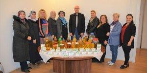 Atık yağ projesine kadınlardan destek