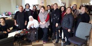 Gemlikli kadınlardan Lösev'e anlamlı ziyaret