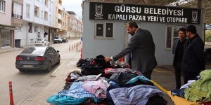 Gürsu'da belediyeden giysi kumbarası