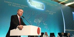 Erdoğan: İşgalcilerin Kudüs'ün kandillerini söndürmesine engel olacağız