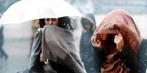 Kar ve fırtına birlikte geliyor
