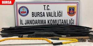 Türk Telekom'un kablolarını çalan hırsızlar tutuklandı