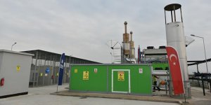 Bursa'da katı atık depolama alanında elektrik üretiliyor