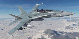 ABD uçakları havada çarpıştı