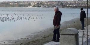 İstanbul Silivri'de Deniz kıyıdan 25 Metre Geri Çekildi