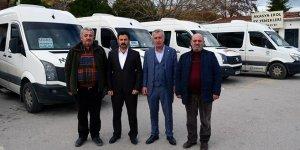 Mudanya'da minibüsçüler yeni yönetimini belirledi