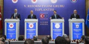 Kritik toplantı sonrası 4 Bakan'dan önemli açıklamalar