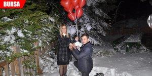 Eksi 15 derecede evlilik teklifi