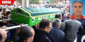 Hamam faciasında ölen doktora son görev