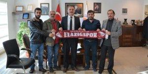 Elazığlılardan Başkan Yılmaz'a ziyaret