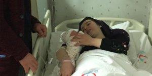 İnegöl'de yeni yılın ilk bebeği dünyaya geldi