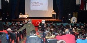 Mudanya'da veremle mücadele anlatıldı