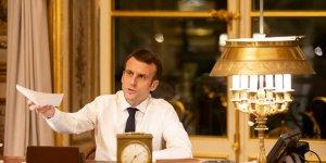 Macron: Avrupa Birliği büyük tehdit altında