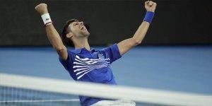 Avustralya'nın kralı Novak Djokovic
