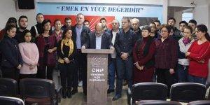 CHP Menemen İlçe Teşkilatı istifa etti