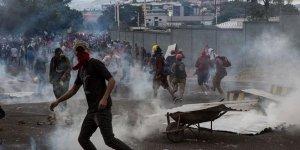 Honduras'tasokaklar karıştı