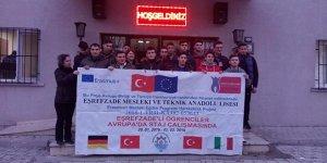Öğrenciler Avrupa yolcusu