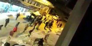 Uludağ'daki kavga anı kamerada