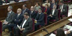 Ayrılıkçı Katalan liderler yargılanıyor