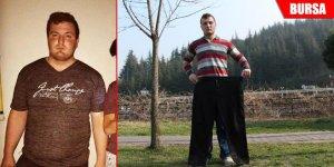 Askerlik hayaliyle 3 ayda 60 kilo verdi