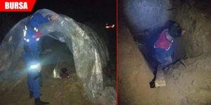 Sera çadırı içinde suçüstü yakalandılar