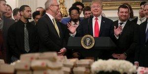 Trump'ın fastfood 'sevgisi'