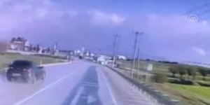 3 komandonun hayatını kaybettiği kaza kamerada