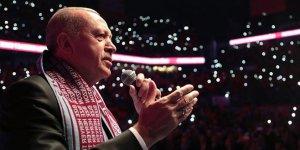 Erdoğan: Ayasofya'yı aslına rücu ettiririz