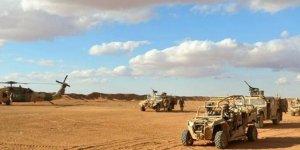ABD zırhlı araçları Kobani'de konuşlandırıldı