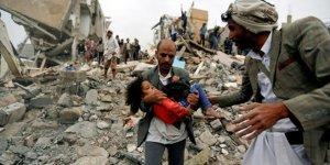Suudiler Yemen'deokul vurdu: 13 ölü