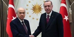 Erdoğan, Bahçeli ile görüştü