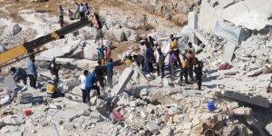 İdlib'de patlama: Çok sayıda ölü var