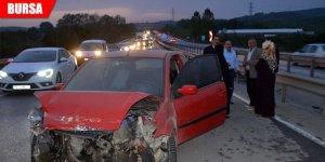 Zincirleme kaza: Yaralılar var