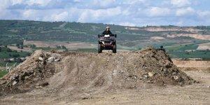 Motocross pistinin yapımı başladı