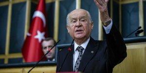 Bahçeli: MHP, Binali Yıldırım'a azimle destek vermiştir