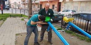 Gürsu'da parklar yaza hazırlanıyor