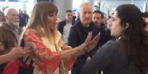 Havalimanı çalışanına hakaret eden kadına dava
