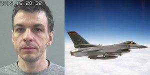 F-16 kılavuzualdı,tutuklandı