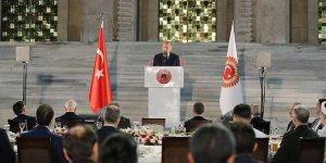 Erdoğan: Hepimiz 82 milyonluk Türkiye gemisinin yolcularıyız