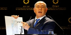 'Yeni İsrail'haritasını tanıttı
