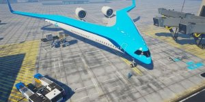 Gitar modelinde uçak