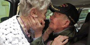75 yıl sonra buluştular! Gözyaşları sel oldu