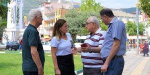 Serintürk, mahallelilerin ihtiyaçlarını dinledi