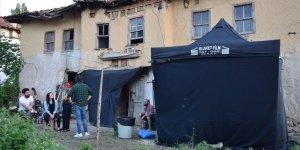 Otantik köy 'film seti' köylüler 'figüran' oldu