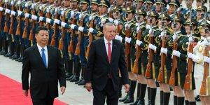 Cumhurbaşkanı Erdoğan Çin'de resmi törenle karşılandı