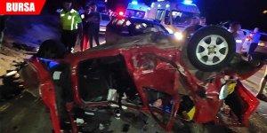 Gemlik'teki zincirleme kazada Genç Parti İl Başkanı hayatını kaybetti