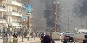 Afrin'de bomba yüklü araç patladı: Çok sayıda ölü ve yaralı var
