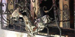 Cinayet zanlısının evine molotoflu saldırı