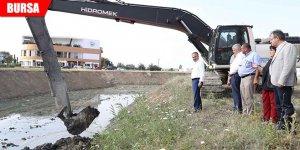 Kirli görüntüsüyle tepki çeken Ayvalıdere'de ıslah çalışması