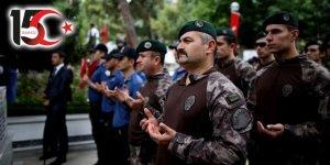 15 Temmuz şehitleri Pınarbaşı Şehitliği'nde anıldı